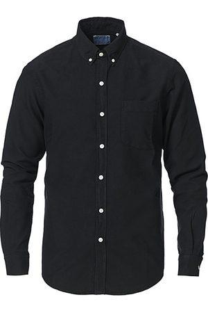 Colorful Standard Miehet Bisnes - Classic Organic Oxford Button Down Shirt Deep Black