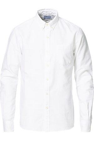 Colorful Standard Miehet Bisnes - Classic Organic Oxford Button Down Shirt White