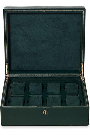 Wolf British Racing Green 8 Piece Watch Box