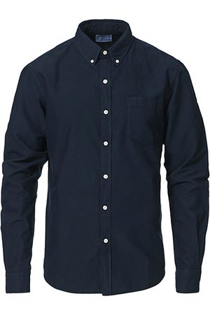 Colorful Standard Classic Organic Oxford Button Down Shirt Navy Blue