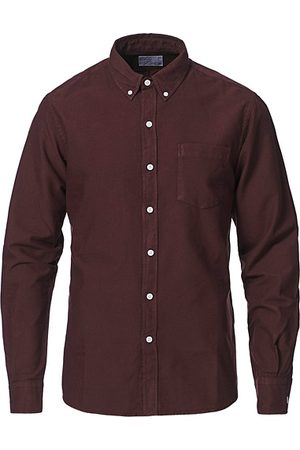Colorful Standard Classic Organic Oxford Button Down Shirt Oxblood Red
