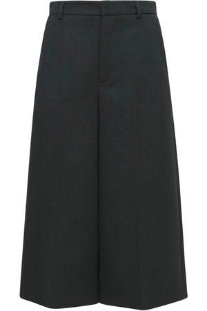 Saint Laurent Tricotine Chine Bermude Baggy Pants