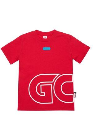 GCDS Printed Logo Cotton Jersey T-shirt