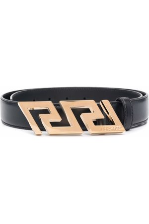 VERSACE Miehet Vyöt - Greca Key engraved buckle belt