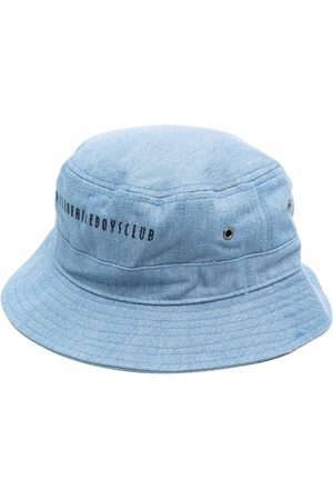 Billionaire Boys Club Miehet Hatut - Logo-embroidered denim bucket hat