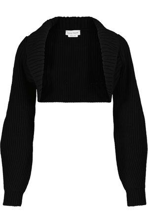 Alexander McQueen Naiset Neuleet - Wool and cashmere shrug