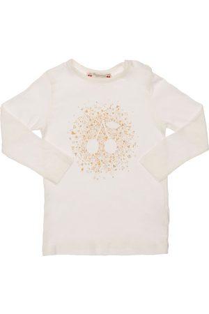 BONPOINT Cherry Print Cotton T-shirt