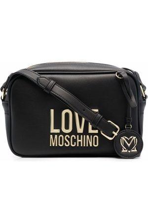 Love Moschino Logo-plaque camera bag