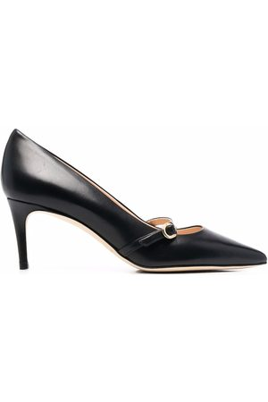 DEE OCLEPPO Naiset Avokkaat - Buckle-strap pointed leather pumps