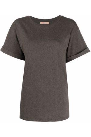12 STOREEZ Oversized crew-neck T-shirt