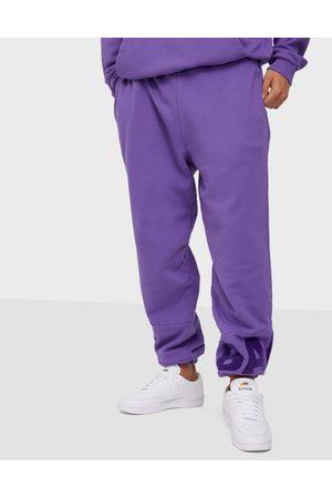 Ball Miehet Collegehousut - Cph Flock Sweat Pants Housut Purple