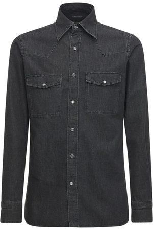 Tom Ford Cotton Denim Shirt