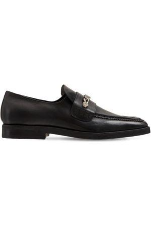 MATTIA CAPEZZANI Miehet Loaferit - Leather Loafers W/ Chain