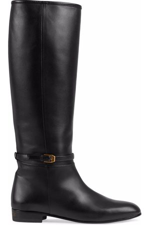 Gucci Naiset Ylipolvensaappaat - Knee-high leather boots