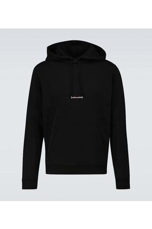 Saint Laurent Miehet Collegepaidat - Cotton hooded sweatshirt