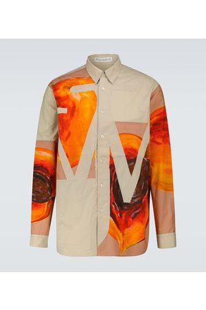 J.W.Anderson Veggie Fruit Anchor appliqué shirt