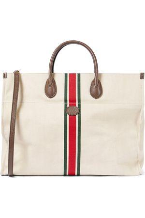 Gucci Naiset Ostoskassit - Large foldable linen tote bag