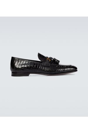 Tom Ford Miehet Loaferit - Sean croc-effect leather loafers