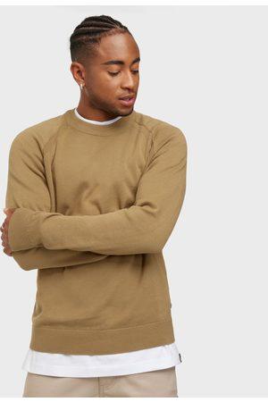 Solid SDLuno O-neck Organic Neuleet & swetarit Hiekka