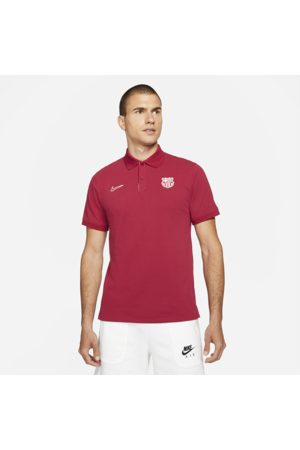 Nike The Polo F.C. Barcelona Men's Slim-Fit Polo - Red