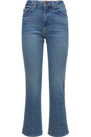 Khaite Naiset Leveälahkeiset - Vivian New Bootcut Flare Denim Jeans