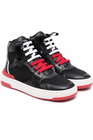 Givenchy Kids Logo-print lace-up sneakers