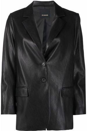 Pinko Long single-breasted blazer