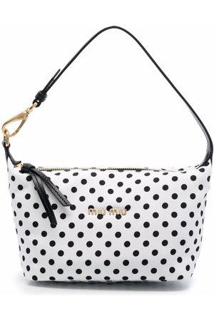 Miu Miu Polka dot-print mini tote bag