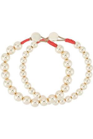 Roxanne Assoulin Naiset Rannekorut - Bubble set of two metallic bracelets