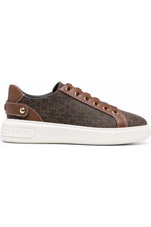 Bally Naiset Tennarit - Malya monogram-print sneakers