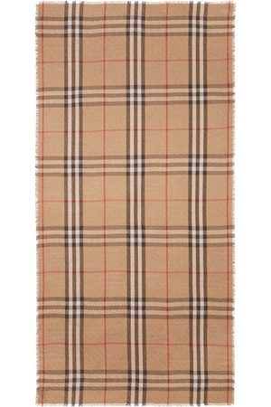 Burberry Huivit - Monogram pattern check scarf