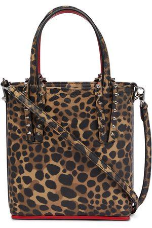 Christian Louboutin Cabata Mini leopard-printed tote bag