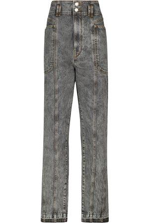 Isabel Marant Naiset Korkeavyötäröiset - Tess high-rise straight jeans