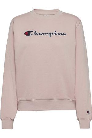 Champion Crewneck Sweatshirt Svetari Collegepaita Vaaleanpunainen