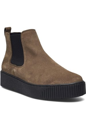 Tamaris Woms Boots Shoes Chelsea Boots Ruskea