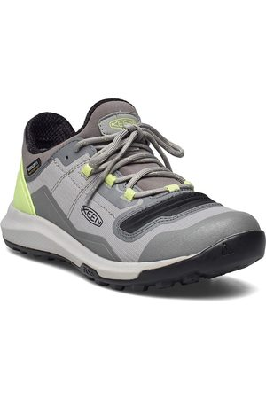 Keen Ke Tempo Flex Wp W Drizzle-Sharp Green Shoes Sport Shoes Outdoor/hiking Shoes Harmaa