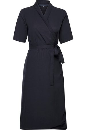 French Connection Aleena Sinni Lyocell Wrap Drs Dresses Cocktail Dresses Musta