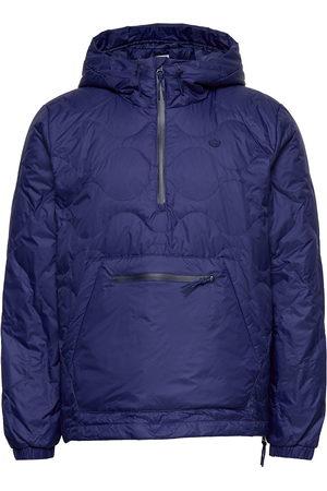adidas Down Quilted Half-Zip Puffer Jacket Outerwear Jackets Anoraks Sininen