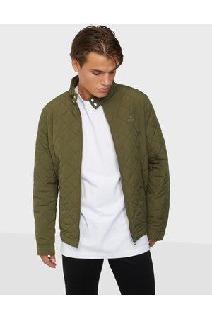GANT Quilted Windcheater Takit Racing Green