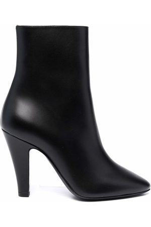 Saint Laurent Polished-finish ankle boots