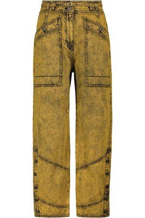 Ulla Johnson Harris high-rise straight jeans