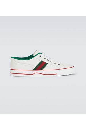 Gucci Miehet Tennarit - Tennis 1977 leather sneakers