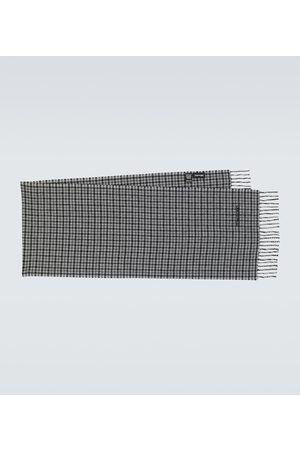 Tom Ford Miehet Huivit - Houndstooth wool and cashmere scarf
