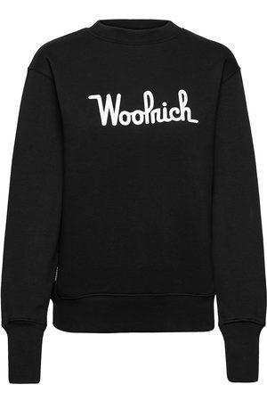 Woolrich Logo Fleece Sweatshirt Svetari Collegepaita