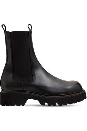 MATTIA CAPEZZANI Miehet Nilkkurit - Beatles Leather Chelsea Boots