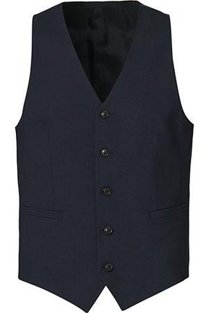 Tiger of Sweden Litt Wool Waistcoat Blue