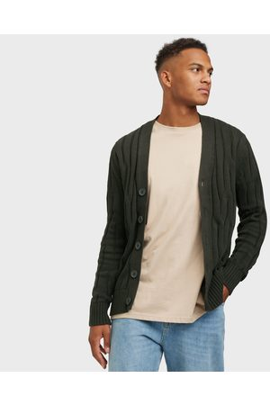 Only & Sons Onswillet Life 12 Cable Cardigan Kn Neuleet & swetarit Peat