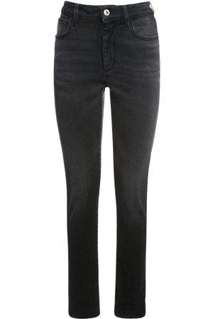 THE ATTICO Cotton Denim Skinny Jeans