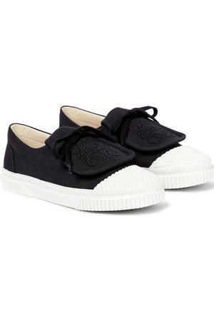 Loewe Flap canvas sneakers
