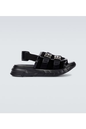 Givenchy Marshmallow suede and leather sandals
